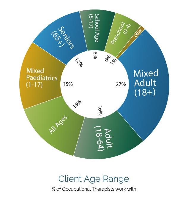 Client Age Range Graph